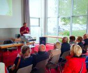 Artgerechte Fußhaltung - Füße und ihr Wohlempfinden . Vortrag von Tim Indorf, Orthopädie-Schumachermeister