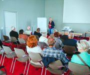Chiropraktik und Training - Vortrag von Ilka Hamann, Heil- und Chiropraktikerin