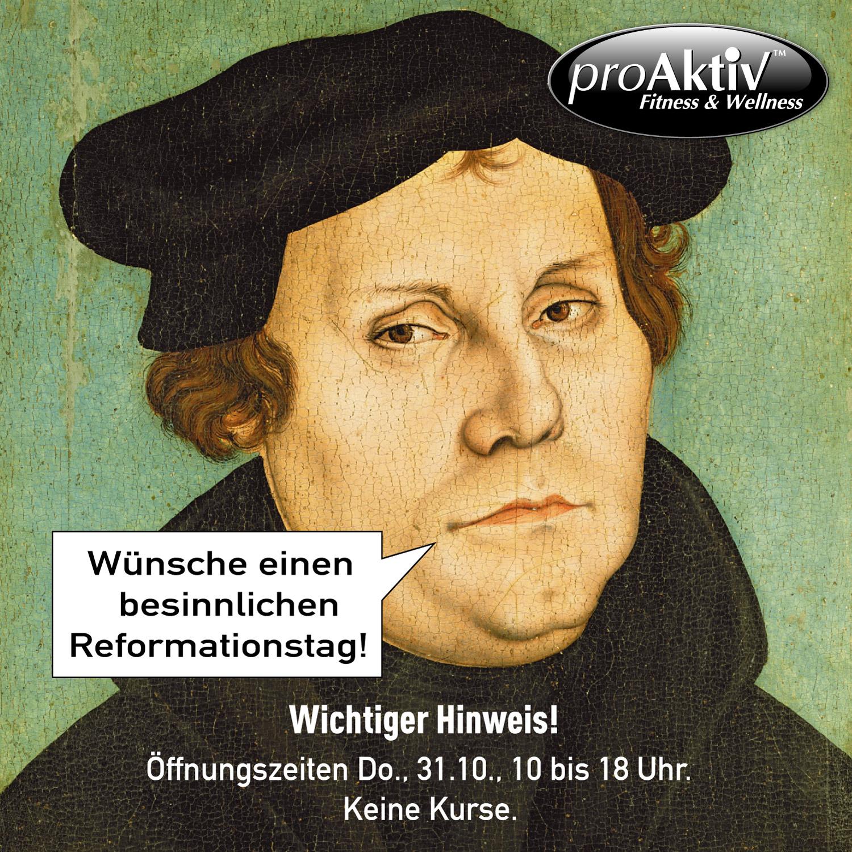 Was Ist Ein Reformationstag