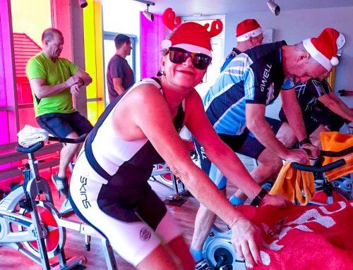 Weihnachtliches Indoor-Cycling – bevor der Weihnachtsmann kam