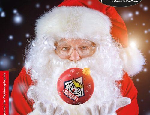 Die Magie des Weihnachtsmannes ist mit dem Team!
