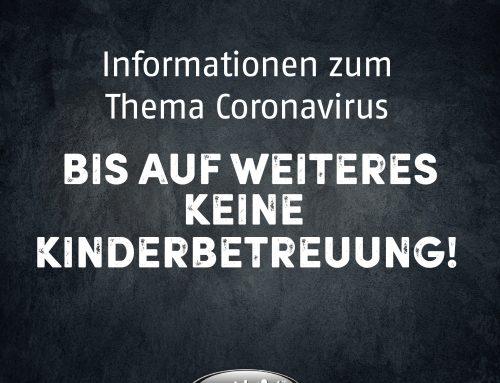 Informationen zum Thema Coronavirus