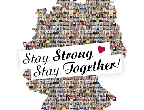 Gemeinschaftsaktion – Stay Strong – Stay Together