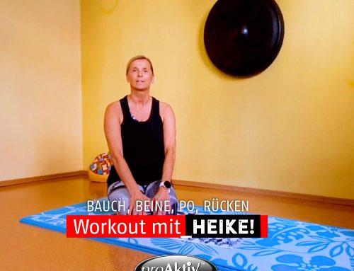 Homeworkout – Bauch, Beine, Po, Rücken – mit Heike
